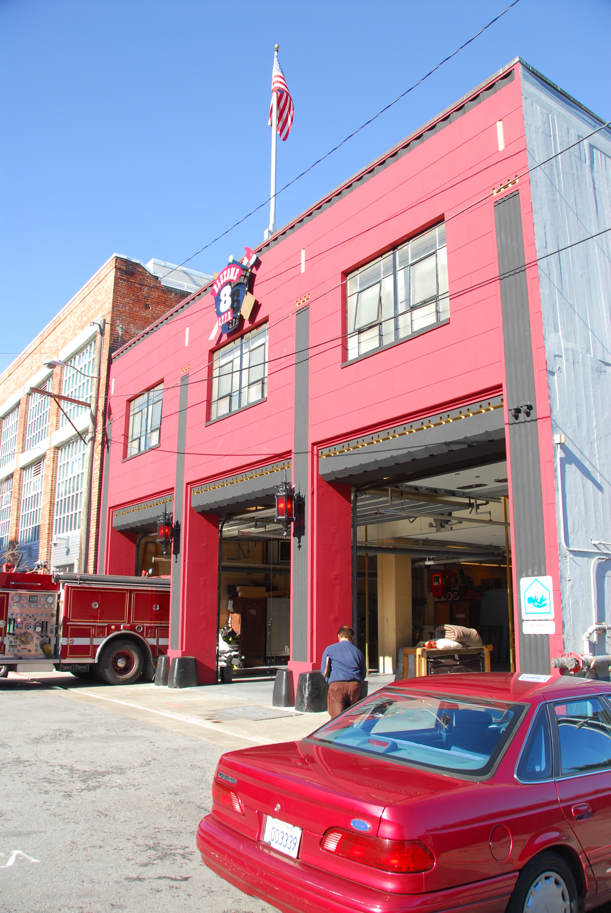 SFFD Fire Station
