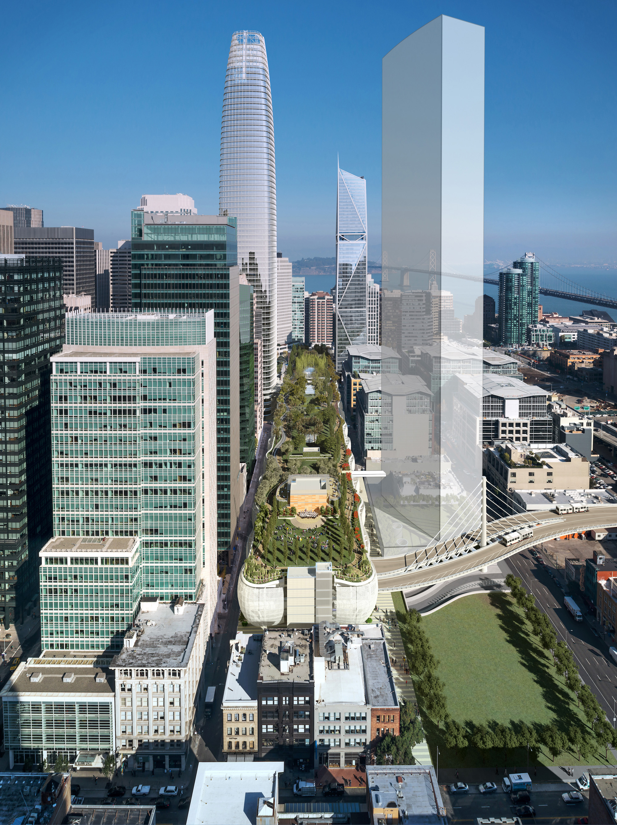 Rendering of the Transbay Transit Center