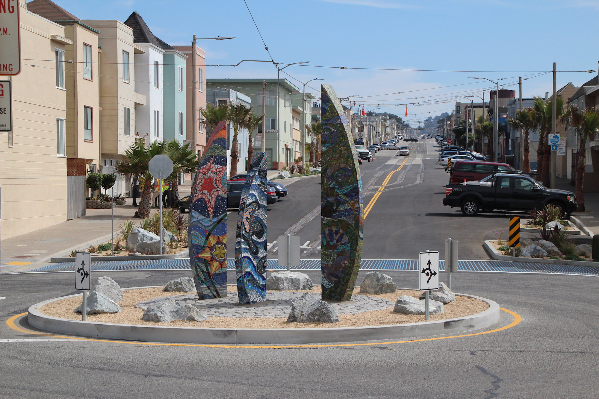 Recently Completed Taraval Streetscape Project