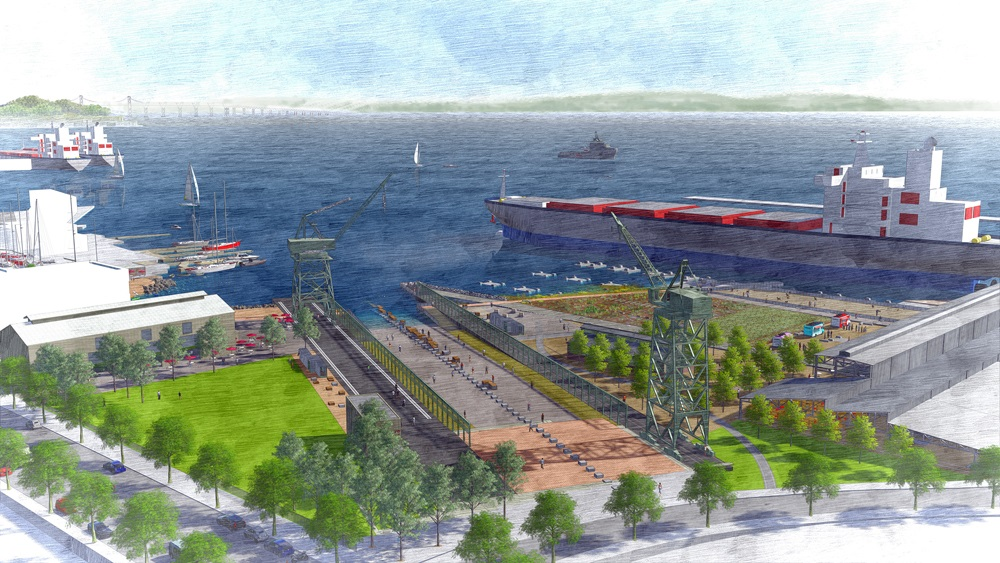 Plan for Crane Cove Park