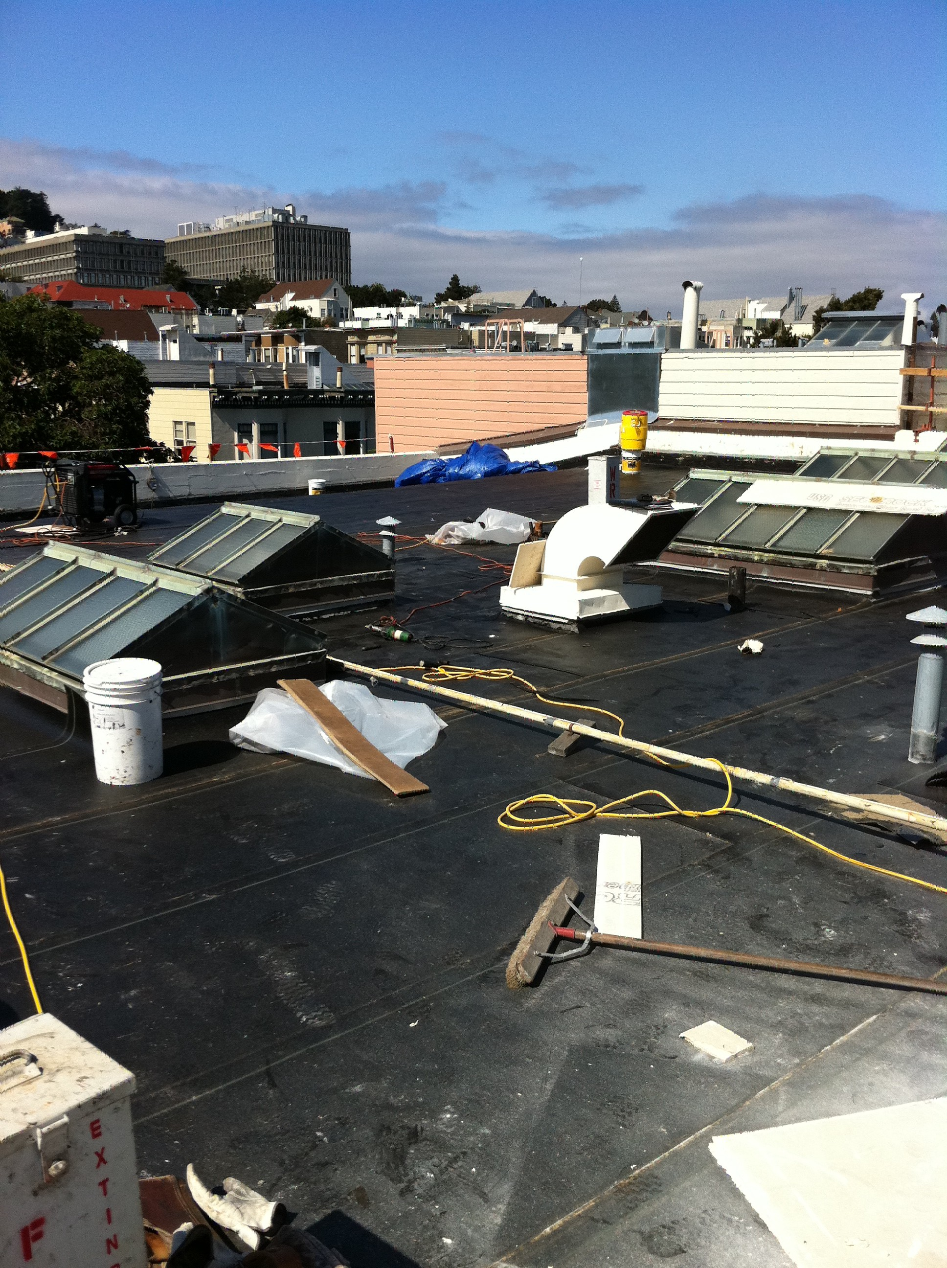 Roof Replacement at Fire Station 6
