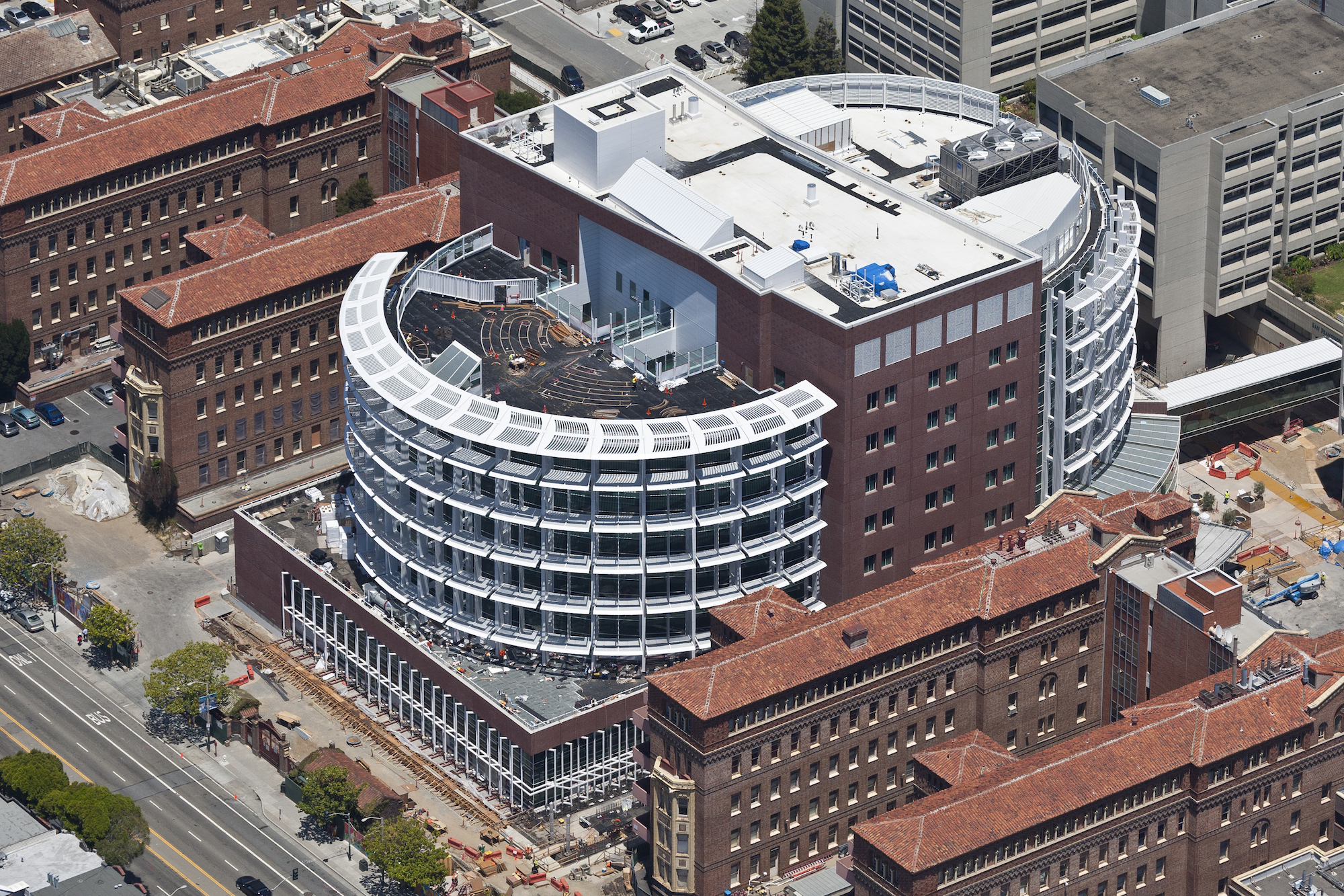 New Level One Trauma Center at Zuckerberg San Francisco General Hospital
